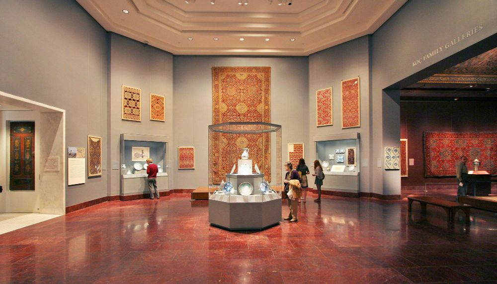 The Islamic Wing at the Metropolitan Museum of Art surpasses two million visitors.